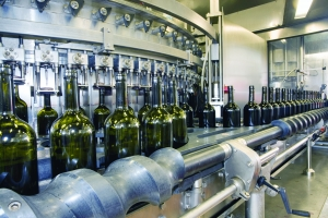 food & beverage wine bottling